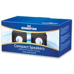 Manhattan 2600 USB fekete hangszóró (Hangszóró)