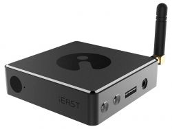 iEAST Stream Pro M30 Wifi/ethernet/USB/AUX fekete hálózati zenelejátszó
