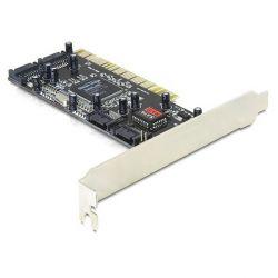 Delock 4 portos belső SATA PCI kártya