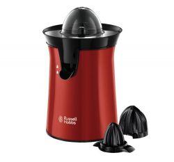 Russell Hobbs 26010-56 Colours Plus+ Flame 60 W, 2 facsaró fej fekete-piros citrusprés