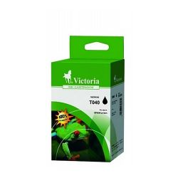 VICTORIA T04014010 17ml fekete utángyártott tintapatron