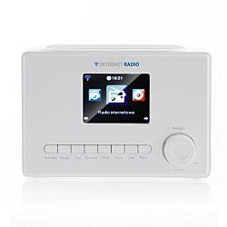 """Art RADA X102 színes LCD 3.2"""", 3 W, 220 V fehér internet rádió"""