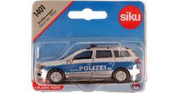 Siku 27872 (8 cm) ezüst-kék BMW rendőrautó