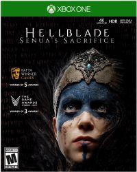 Hellblade: Senua Sacrifice (Xbox One) játékszoftver