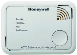 Honeywell XC-70-HU-A fehér szén-monoxid érzékelő