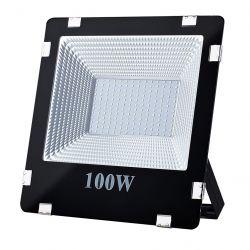 Art L4101630 100W, SMD, IP66, AC80-265V, 4000K fekete LED lámpa