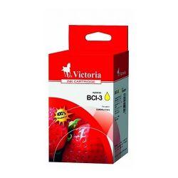 VICTORIA BCI-3Y 15ml sárga utángyártott tintapatron