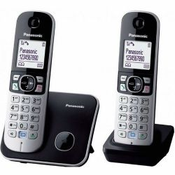 Panasonic KX-TG6812PDB DECT vezeték nélküli telefon (Asztali telefon)