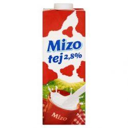 Mizo 1 l UHT (2,8%) félzsíros tej