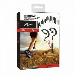 ART AP-B23 Bluetooth fekete-sárga sport headset