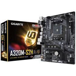 GIGABYTE GA-A320M-S2H AM4 DDR4 mATX alaplap
