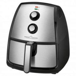 Clatronic PC-FR 1115 H 3.5 L, 1500 W fekete-inox forró levegős olajsütő