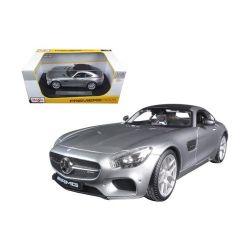Rastar Group 14602|1:24 Mercedes-Benz SLS AMG 4010 ezüst Távirányítós autó
