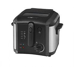 Clatronic FR 3649 1600W 2.5l fekete/inox olajsütő
