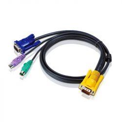 ATEN KVM Cable (HD15-SVGA, PS/2, PS/2) - 2m