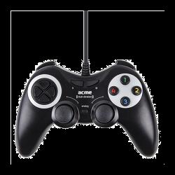 ACME GA-08 digitális rezgő fekete vezetékes gamepad