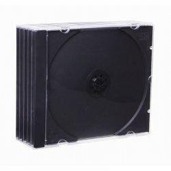 Esperanza 3016 fekete adathordozó tok (5db)