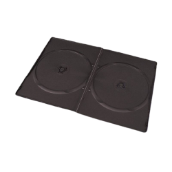Esperanza 3037 Ultra Slim 7mm, 2 db-os fekete adathordozó tok