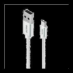 Acme CB2011S 1m ezüst Micro USB kábel
