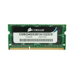 Corsair 4GB, 1333MHz DDR3, SODIMM Single-channel notebook memória