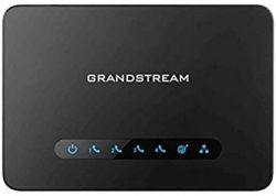 Grandstream HT ATA 814  fekete analóg VoIP adapter