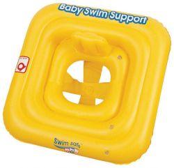 Bestway 76x76 cm sárga baba úszóka
