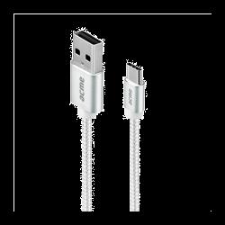 Acme CB2041S 1m ezüst Type-C USB kábel