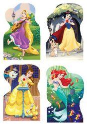 Dino 333185 Hercegnők 4x54 darabos puzzle