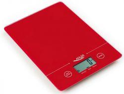 Adler AD 3138 r max. 5 kg, 1 g pontosság piros konyhai mérleg