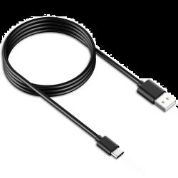 Samsung EP-DW700CBE, 1,5m, fekete USB Type-C adatkábel