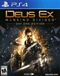 Deus Ex: Mankind Divided Day 1 (PS4) játékszoftver