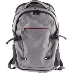 Natec ALPACA, 17,3'' szürke notebook hátizsák