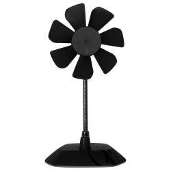 Arctic Breeze fekete USB asztali ventilátor