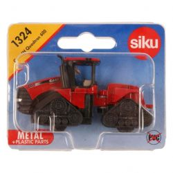 Siku 39366 (8 x 3 x 4 cm) piros-fekete Case IH Quadtrac 600 traktor