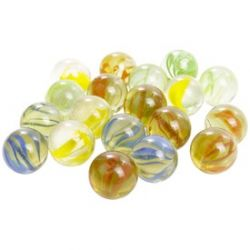 REGIO 329900996 üveggolyó 4 szín 1,6 cm - 50 darab/csomag