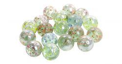 Regio 39527 (16 mm) Csillámos üveggolyó 50 darabos készlet