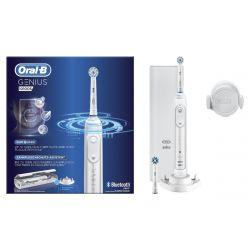 Braun Oral-B Genius 10100S 6 mód, Li-Ion fehér elektromos fogkefe
