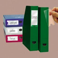 3L 35x102 mm öntapadó címketartó zseb