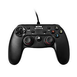 Acme GA09 digitális fekete vezetékes USB 2.0/microUSB gamepad