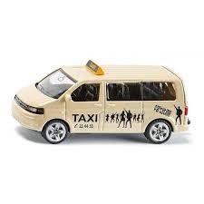Siku 40246 (10 x 4 x 8 cm) krémszínű Volkswagen Transporter taxi busz
