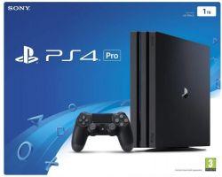 Sony Playstation 4 PRO 1TB fekete játékkonzol