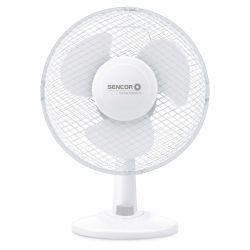 Sencor SFE 2327WH 30W 23cm 2-fokozatos fehér asztali ventilátor
