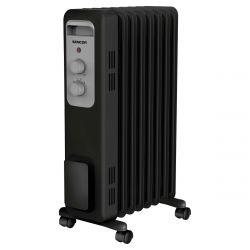 Sencor SOH 33307BK max. 1500 W, 7 hűtőborda fekete-szürke elektromos olajradiátor