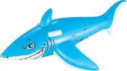 Bestway 183x102 cm kék-fehér fehér cápa lovagló