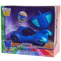 Mr Toys 41150 (20 cm) kék Pizsihősök macska távirányítós autója