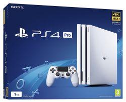 Sony Playstation 4 PRO 1TB fehér játékkonzol