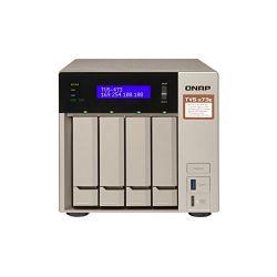QNAP TVS-473e-4G AMD RX-421BD 2.1GHz 4GB 4-lemezes arany NAS szerver