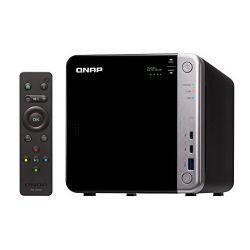QNAP TS-453BT3-8G Intel® Celeron J3455 1.5GHz 8GB 4-lemezes fekete NAS szerver