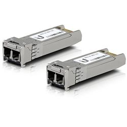 Ubiquiti UF-MM-10G 10Gbps SR-LC (Multi-Mode Fiber) 850nm 300m SFP+ modul (2-Pack)