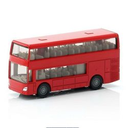 Siku 42343 (7 cm) piros emeletes busz